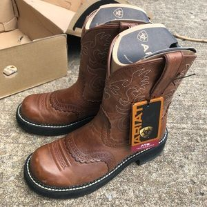Ariat Shoes - Ariat Fat Baby Saddle Boots NWT